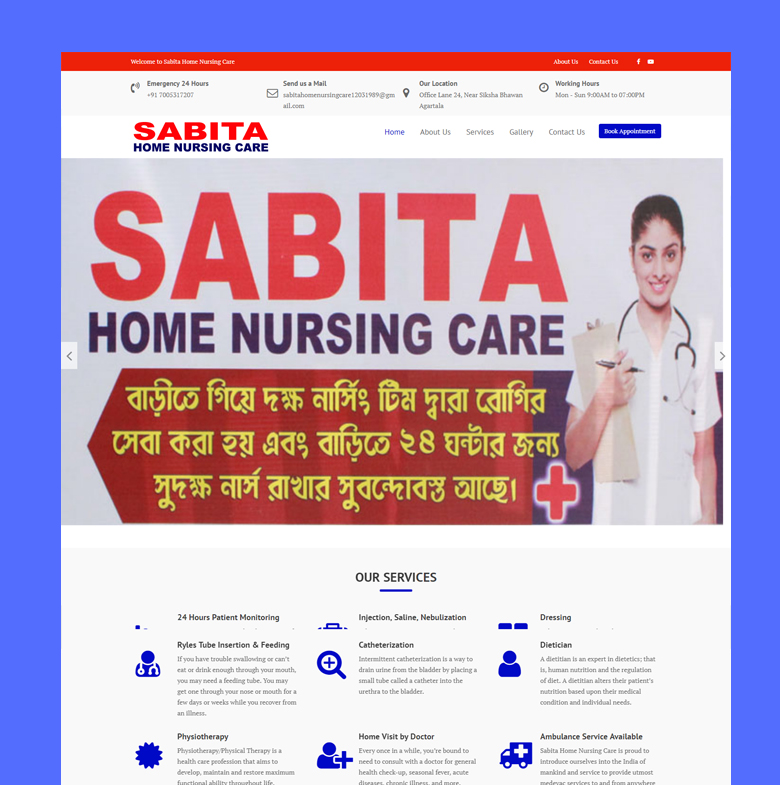 Sabita Home Nursing Care